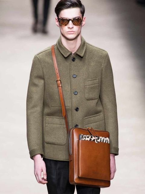 <p>Animal print accessories at Burberry</p>