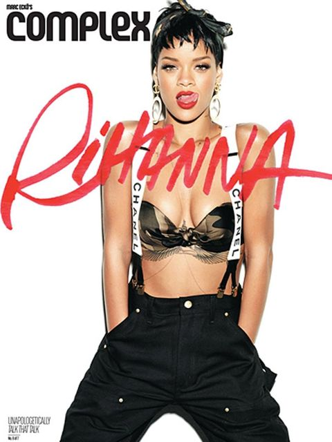 <p>One of Rihanna's seven Complex covers</p>