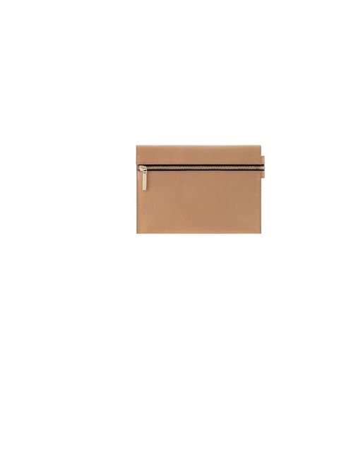 "<p>Victoria Beckham zip-up clutch, £349, at <a href=""http://www.farfetch.com/shopping/women/designer-victoria-beckham-zip-up-clutch-item-10200228.aspx"">Farfetch</a></p>"