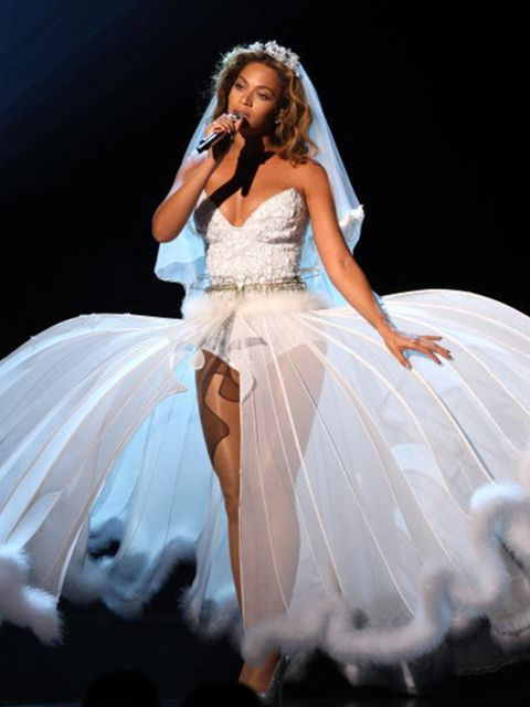 <p>Onstage at the 2009 BET Awards </p>