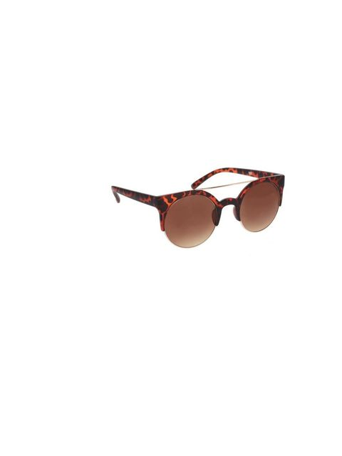 "<p><a href=""http://www.asos.com/ASOS/ASOS-Round-Sunglasses-With-Metal-Bridge-Detail/Prod/pgeproduct.aspx?iid=1723443&cid=4545&Rf-400=53&sh=0&pge=2&pgesize=20&sort=3&clr=Tortoise"">ASOS</a> tortoiseshell sunglasses, £12</p>"