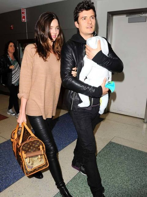 "<p><a href=""http://www.elleuk.com/starstyle/style-files/(section)/miranda-kerr"">Miranda Kerr</a> wearing <a href=""http://www.elleuk.com/fashion/6-of-the-best/leather-trousers"">leather trousers</a>, <a href=""http://www.elleuk.com/catwalk/collections/balenc"