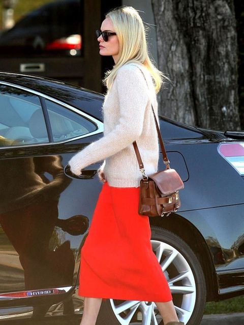 "<p><a href=""http://www.elleuk.com/starstyle/style-files/%28section%29/kate-bosworth/%28offset%29/0/%28img%29/462392"">Kate Bosworth</a> teaming her red skirt with a <a href=""http://www.elleuk.com/catwalk/collections/proenza-schouler/"">Proenza Schouler</a>"