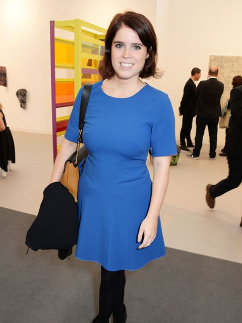 Princess Eugenie attends VIP preview of Frieze Art Fair in London, October 2014