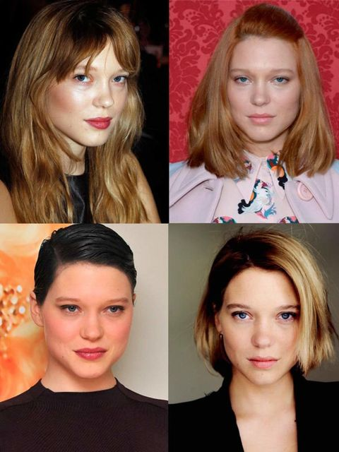<p>When you think hair chameleon, we bet Katy Perry, Rihanna and Lady Gaga immediately pop into your mind. How about French actress Léa Seydoux? This ingénue changes her hair almost monthly, mostly for film roles or for her part as the face of Prada Candy