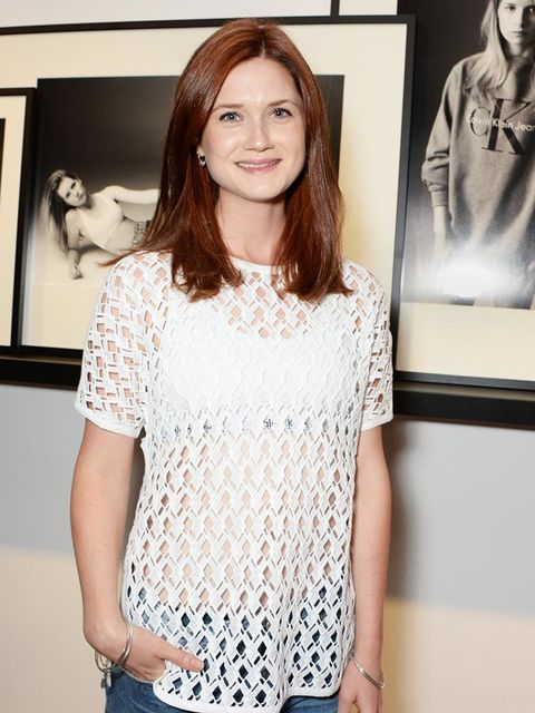 <p><strong>Bonnie Wright, Actress </strong></p>