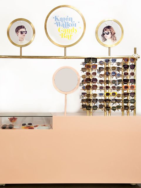 <p>If you fancy a bit of eye candy this summer, then Karen Walker's Candy bar is the perfect place to get your fix - your sunglasses fix that is. The pop up shop stocks Walker's main season eyewear as well as limited edition pieces you wont find anywhere