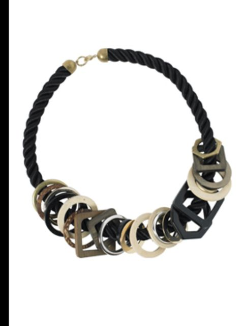 """<p>Chunky necklace, £20, by <a href=""""http://www.oasis-stores.com/"""">Oasis</a></p>"""
