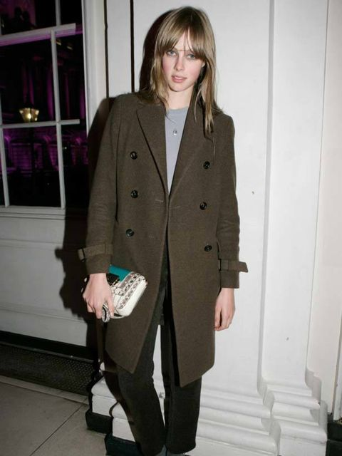 <p>We have developed a near obsession with fashion's latest darling. Those big eyes, disdainful pout and a consistently flawless style have made Edie Campbell our new girl crush. On or off duty, the model girlfriend of rocker Johnny Borrell never fails to
