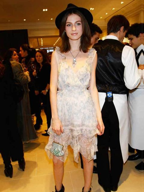 <p> </p><p>This year a new member was inducted into the stylish-child-of-rock-royalty club. The stunning 17 year old daughter of Annie Lennox is now making a name for herself thanks to a promising modelling career and has got our attention with her eclect