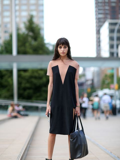 <p>Vanessa M wears Trend dress, vintage shoes.</p>
