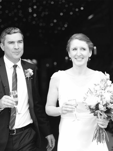 <p>Liam chose a suit from Hugo Boss and delivered a fantastic wedding speech, despite minimal notes and plenty of nerves.</p>