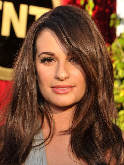 <p>Lea Michele at the 2012 SAG Awards</p>