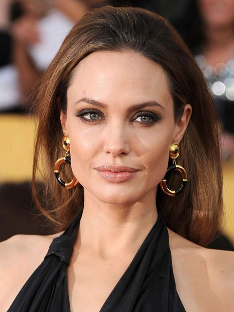 <p>Angelina Jolie at the 2012 SAG Awards</p>