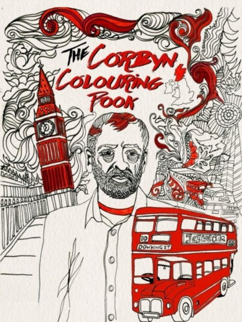 "<p><strong>For the politico</strong></p>  <p>The Corbyn Colouring Book</p>  <p><a href=""http://www.hive.co.uk/Product/James-Nunn/The-Corbyn-Colouring-Book/18303475?gclid=COX3-d393ckCFcSVGwodNXoH6g"" target=""_blank"">Hive.co.uk</a> (<span style=""line-height:"