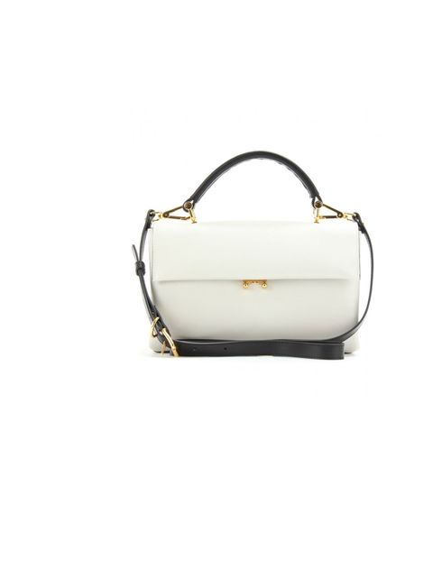"<p>Marni leather bag, £738, at <a href=""http://www.mytheresa.com/en-gb/leather-accordion-handbag.html"">myteresa.com</a></p>"
