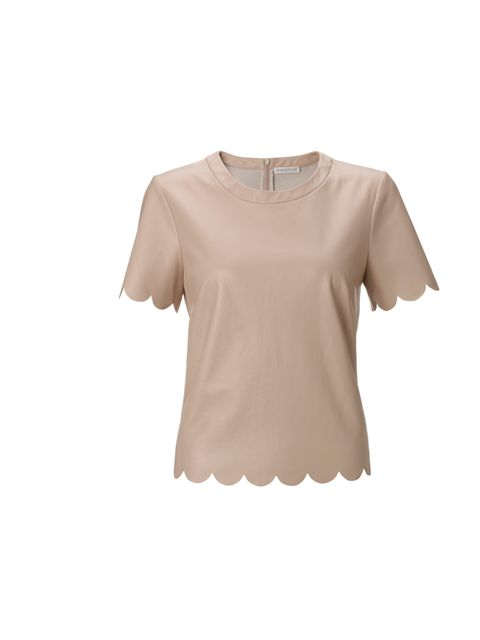 "<p>Whistles scallop edged leather top, £250</p><p><a href=""http://shopping.elleuk.com/browse?fts=whistles+scallop+top"">BUY NOW</a></p>"