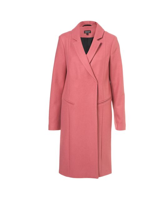 "<p>A pink wool coat? You bet. A little bit Celine, a hell of a lot fabulous, take a chance with a 'loud' coat, we dares ya… Topshop pink wool coat, £95</p><p><a href=""http://shopping.elleuk.com/browse/womens-clothes?fts=topshop+pink+coat"">BUY NOW</a></p>"