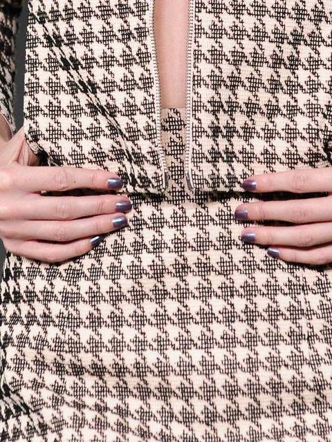 London: Antipodium Petrol-hued nails at Antipodium