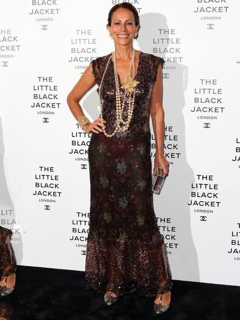 <p>Andrea Dellal at the Chanel Little Black Jacket Private View</p>