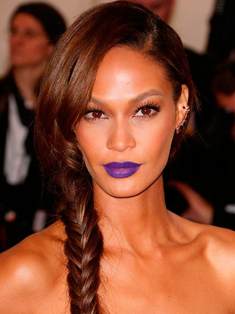 "<p><a href=""http://www.elleuk.com/star-style/red-carpet/met-ball-2014-celebrity-pictures-dresses-charles-james-costume-institute-gala"">Joan Smalls</a></p><p>We're not looking at your fishtail plait or your custom-made Vera Wang gown Joan (although they ar"