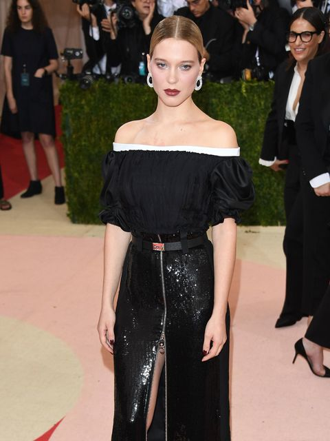 Léa Seydoux at the Met Gala, May 2016