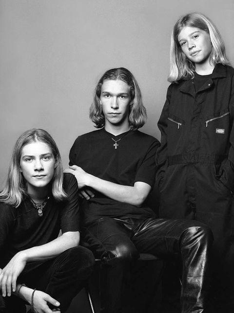 Hanson  MMMBop your way to the nearest salon and request a mid-length haircut like Hanson's - it's the cut of the season and they were WAY ahead of the game.