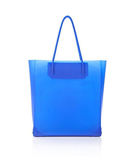 Fashion features writer Emma likes the new silicon Alexander Wang tote, £313.