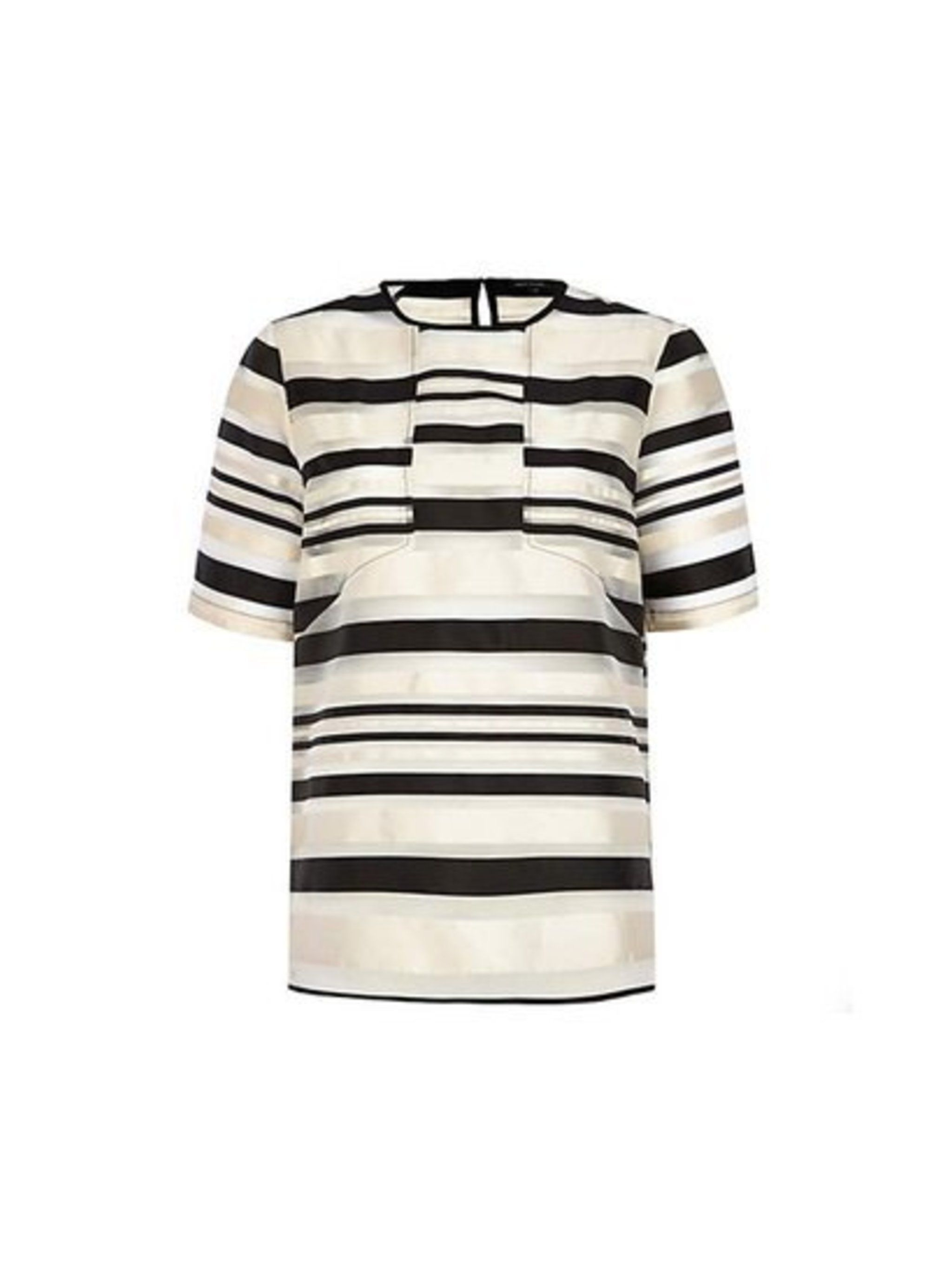 Pair with cigarette pants, like Executive Fashion Director Kirsty Dale.  River Island top, £35