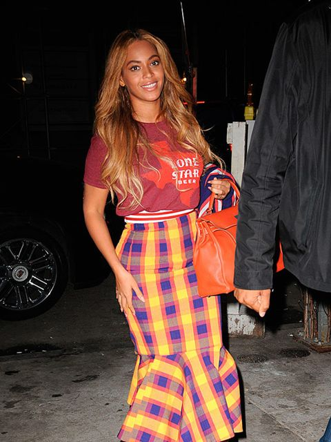 Beyonce out and about in New York, May 2015.