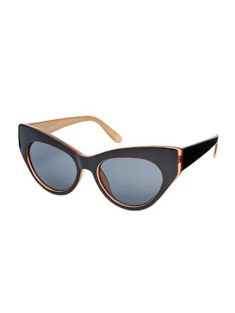 "<p>Digital Director Phebe Hunnicutt will match these graphic sunnies to her graphic haircut.</p>  <p><a href=""http://www.asos.com/ASOS/ASOS-Chunky-Exaggerated-Cat-Eye-Sunglasses/Prod/pgeproduct.aspx?iid=4697471&cid=6992&sh=0&pge=1&pgesize=36&sort=-1&clr=B"