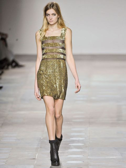 <p>The basis for Hemingway's dress from the AW12 Unique show</p>