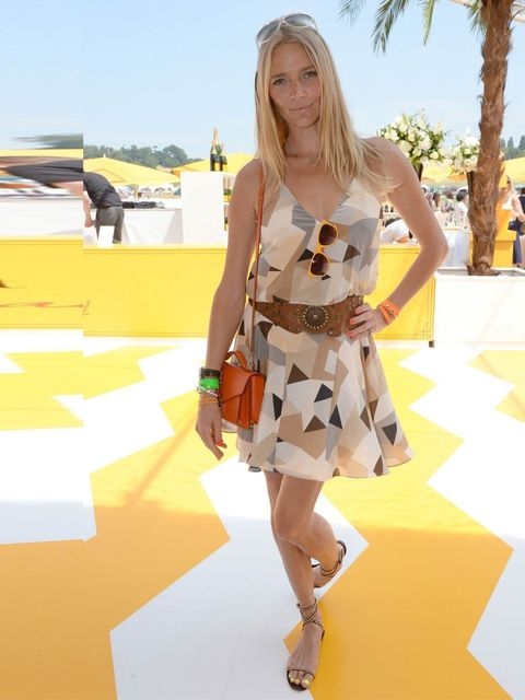 "<p>Jodie Kidd in Milly. </p><p><a href=""http://www.elleuk.com/star-style/celebrity-fashion-trends/celebrity-summer-heatwave-fashion-looks""></a></p>"