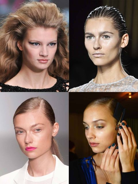 "<p>Another <a href=""http://www.elleuk.com/catwalk"">London Fashion Week</a> has come and gone, and left in its wake is a whole lot of beauty inspiration. At the spring/summer 2014 London shows there was an eclectic mix of looks; when it came to inspiration"