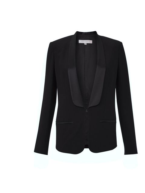 <p>French Connection tuxedo blazer £150</p><p>For stockists call 0844 557 3285</p>