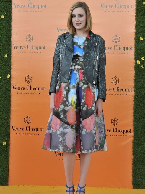 <p>Laura Carmichael at the Polo</p>