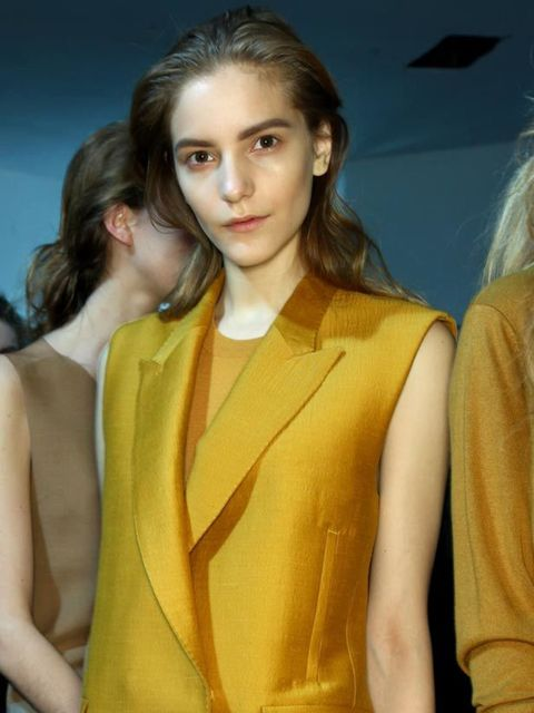 <p><strong>The Sleeveless Top</strong></p><p><strong>The Look:</strong> It's not unusual for arms to be on show in summer, but a host of designers took a liking to the sleeveless look for autumn/winter too. So, it's time to ditch the knitwear shopping, an