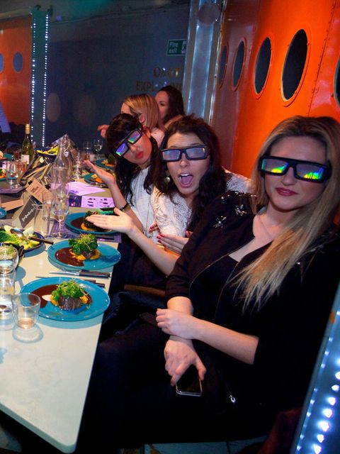 <p><strong>FOOD: GINGERLINE JUBILEE</strong></p><p>This secret ticketed supperclub is the talk of the town right now. Offering a four-course feast and plenty of revelry, guests sit in transit somewhere along the London rail network.</p><p>You're sworn