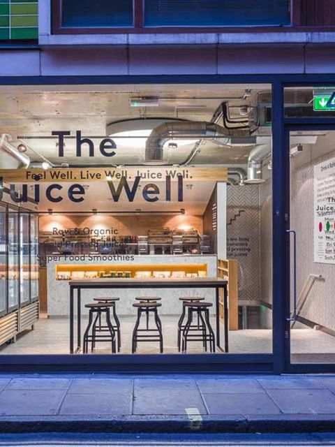"<p><a href=""http://www.thejuicewell.hk/"" target=""_blank"">The Juice Well</a></p>  <p>What? Founded by Joe Cross star of documentary 'Sick, Fat and Nearly Dead'.</p>  <p>Why visit? The Juice Well boasts unusual concoctions like Hunger Buster, £5 with chia g"