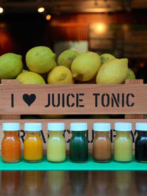 "<p><a href=""http://www.juicetonic.com/"" target=""_blank"">Juice Tonic</a></p>  <p>What? An organic, cold-pressed, organic juicery in the heart of London.</p>  <p>Why visit? Asides from the super healthy juices, Juice Tonic has a selection of restorative fre"