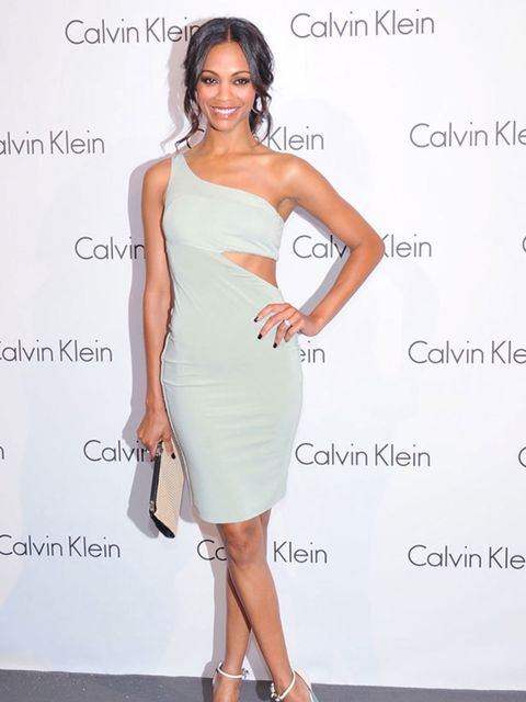 "<p><a href=""http://www.elleuk.com/news/Star-style-News/zoe-saldana-is-new-face-of-calvin-klein-underwear/%28gid%29/558513"">Zoe Saldana</a> in <a href=""http://www.elleuk.com/catwalk/collections/calvin-klein/autumn-winter-2010"">Calvin Klein</a> </p>"