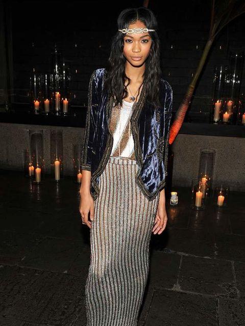 "<p><a href=""http://www.elleuk.com/Search-Results?cx=007674681116717002309%3Asbbxt5zeani&amp&#x3B;cof=FORID%3A11&amp&#x3B;ie=UTF-8&amp&#x3B;q=chanel+iman"">Chanel Iman</a> looking elegant in a loose velvet jacket</p>"