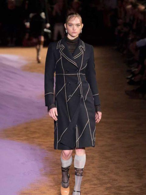 "<p><strong>Biggest model comeback:</strong></p>  <p>Gemma Ward opens <a href=""http://www.elleuk.com/catwalk/prada/spring-summer-2015"">Prada</a>. The world faints.</p>"