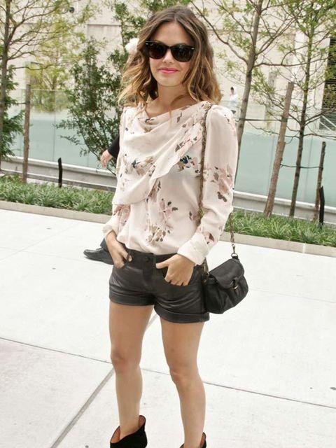 "<p><a href=""http://www.elleuk.com/starstyle/style-files/%28section%29/Rachel-Bilson"">Rachel Bilson</a> wearing a Vanessa Bruno blouse</p>"