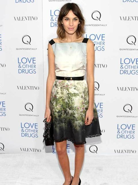 """<p><a href=""""http://www.elleuk.com/starstyle/style-files/%28section%29/Alexa-Chung"""">Alexa Chung</a> wearing a <a href=""""http://www.elleuk.com/catwalk/collections/valentino/spring-summer-2011/collection"""">Valentino</a> dress from the 2011 resort collection </"""