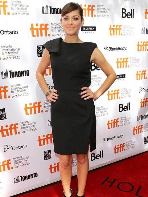 <p>Marion Cotillard wearing Lefranc Ferrant</p>