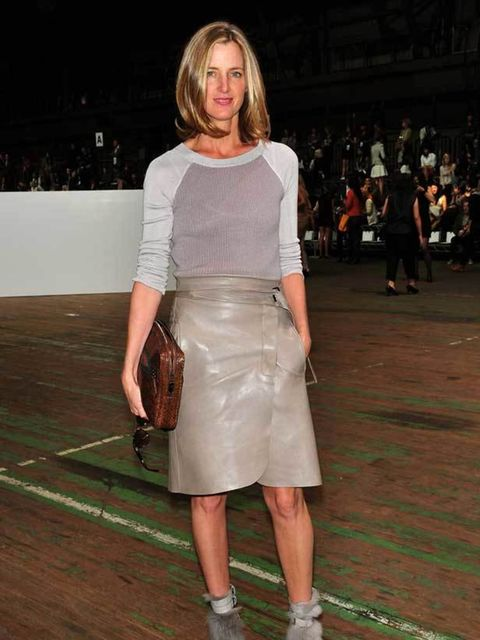 "<p>Amanda Brooks at the <a href=""http://www.elleuk.com/catwalk/collections/3.1-phillip-lim/spring-summer-2011/review"">3.1 Phillip Lim</a> show at New York Fashion Week, 2010</p>"
