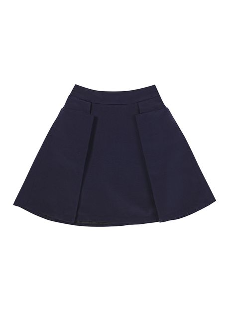 """<p>Navy skirt, £85 from <a href=""""http://www.llunaa.com/nproduct2.php?serial=297"""">llunna</a>.</p>"""
