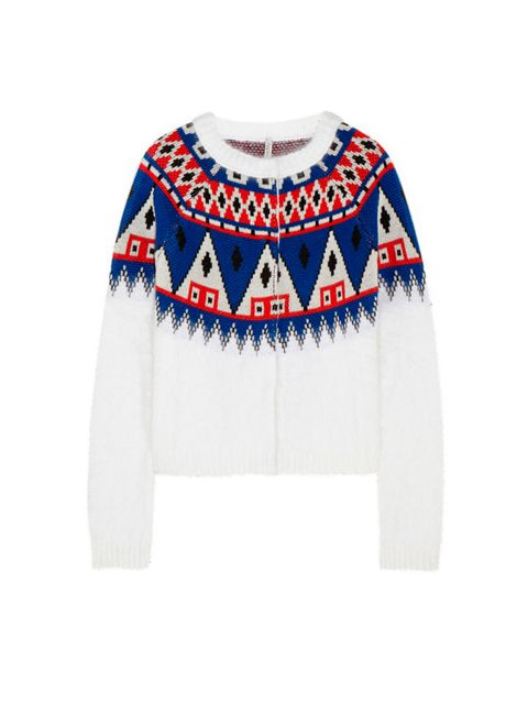 "<p>Aimo Richly</p>  <p>Hand-loomed in Italy, Aimo Richly's intarsia knits will jazz up leather, denim and even the greyest winter days.</p>  <p>£470, by Aimo Richly from <a href=""http://www.net-a-porter.com/product/477667/Finds/-aimo-richly-wool-and-angor"
