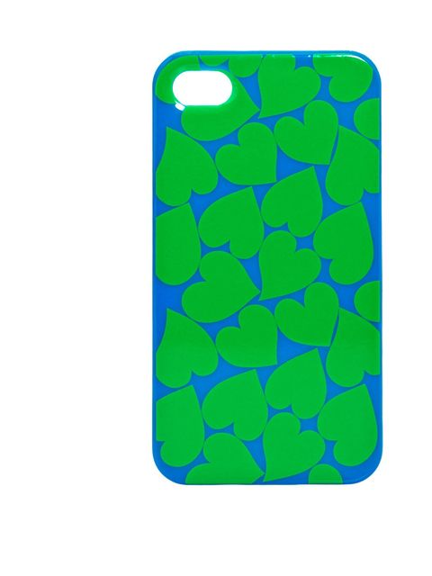 """<p>Marc by Marc Jacobs heart print case, £30, at <a href=""""http://www.liberty.co.uk/fcp/product/Liberty//Green-and-Blue-Heart-Print-iPhone-Case-Marc-by-Marc-Jacobs/76231"""">Liberty </a></p>"""